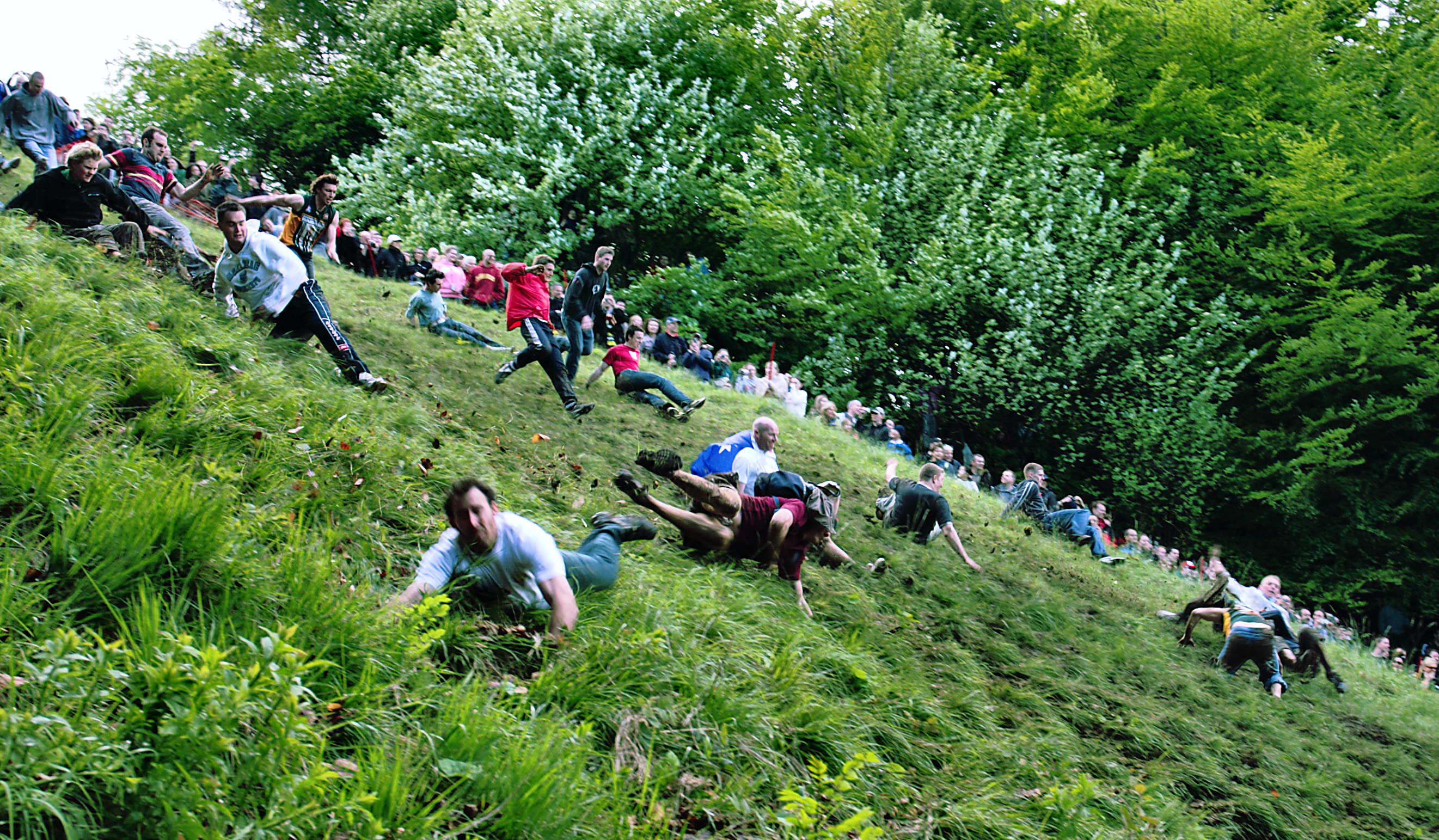 Cooper's Hill Cheese-Rolling Brockworth, England - Spring events