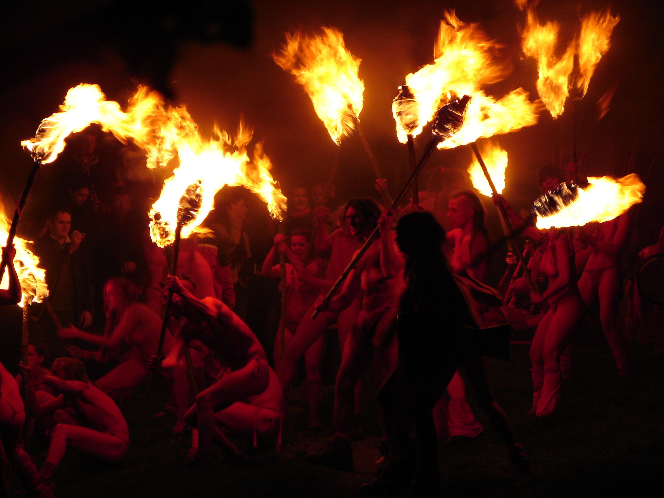 Beltane Fire Festival Edinburgh, Scotland - Spring events