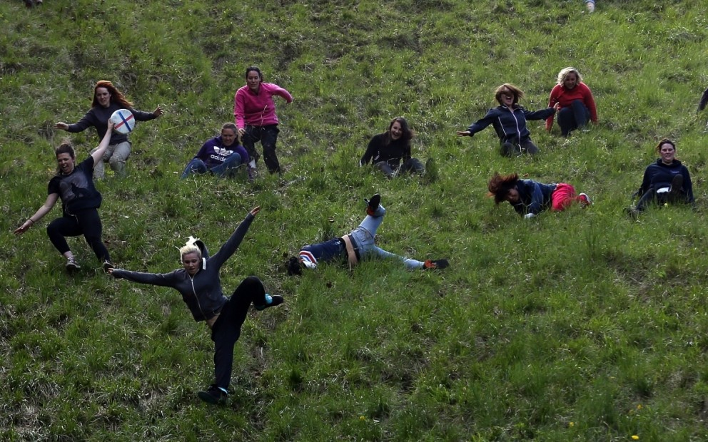 Cooper's Hill Cheese-Rolling Brockworth (England) - Spring events