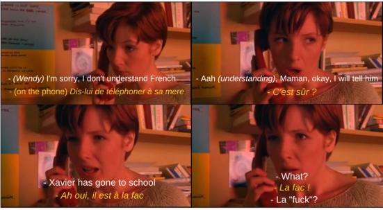 language student