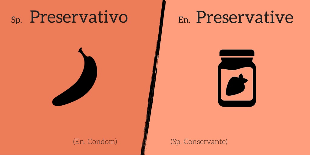 False friend: Preservativo ≠ Preservative